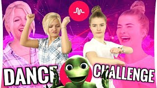 DANCE CHALLENGE Musical.ly (SHUFFLE, Pick It Up, ... ) - THE WORST DANCES