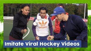 Copying Viral Hockey Tricks - Field Hockey Game | Hockey Heroes TV