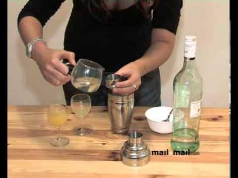 Recetas de bebidas. Cocktail Calipso