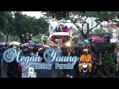 Rain of support for Megan Young