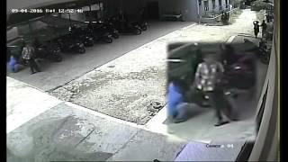 Nekat Anak Baru Gede mau Mencuri Sepeda Motor di Kos Kosan Kota Medan Terekam CCTV