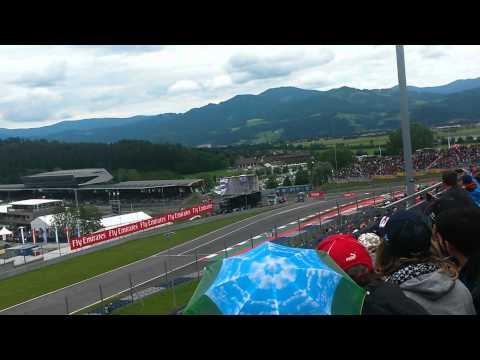 Start F1 #AustrianGP 2015 redbull tribune E