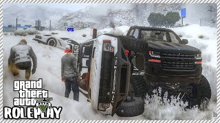 GTA 5 Roleplay - Angry Guy Shoots Out my Tires | RedlineRP #113