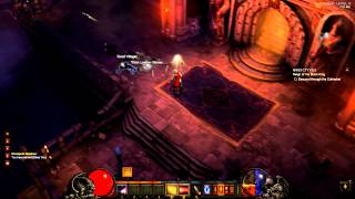 [Diablo 3 Walkthrough] Demon Hunter - Act 1 - Part 6 - Lower Cathedral_ Jondar (Boss)