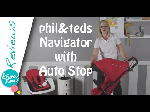 phil&teds Navigator Inline Stroller with Auto Stop Review