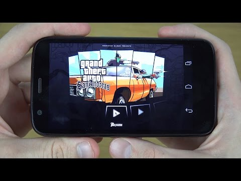 GTA San Andreas Motorola Moto G 4G LTE 4K Gaming Review