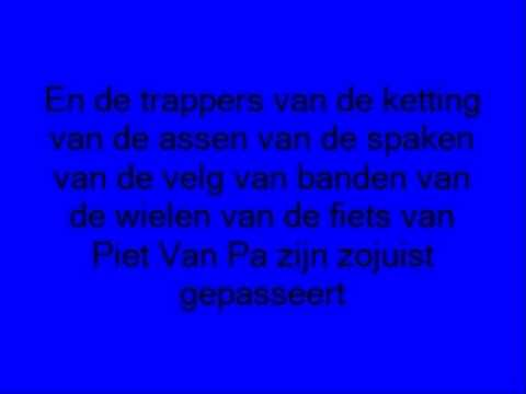 De fiets van Piet van Pa