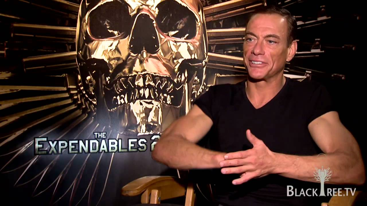 the expendables 2 jean claude vandamme interview youtube