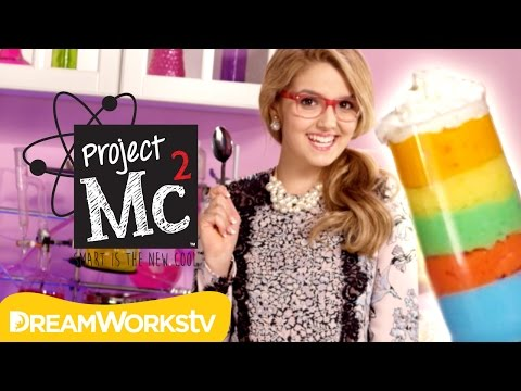 Adrienne Attoms' Yummy Science: Rainbow Foam | Project Mc²