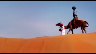 Mapping The Desert With Google's Street View 'Camel Cam'