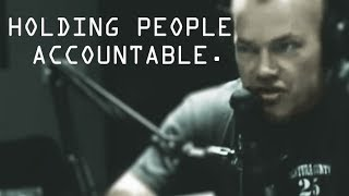 Jocko's Issue With Holding People Accountable - Jocko Willink