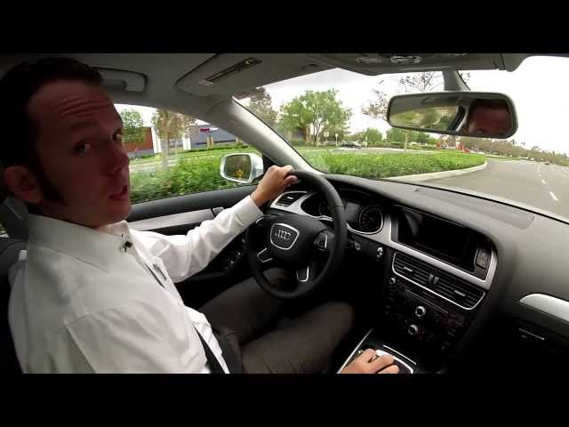 2014 Audi A4 Review and Test Drive - YouTube