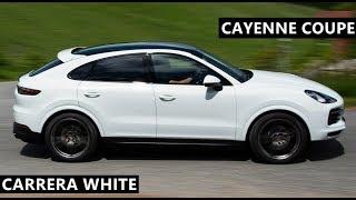 Porsche Cayenne Coupe in Carrera White