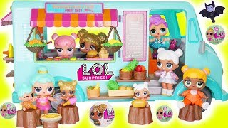 LOL Surprise Dolls Lil Sisters with Lil Woodzeez Camper