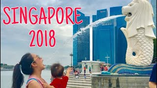 Singapore2018, Cable car to Sentosa นั่งเคเบิ้ลคาร์ข้ามไปเกาะเซ็นโตซ่า