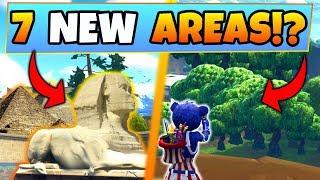 Fortnite Season 5: 7 NEW AREA/MAP POSSIBILITIES! – Leaked? (Battle Royale Update/Battle Pass)