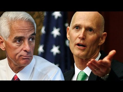 Charlie Crist & Rick Scott Election Gets Sticky in Florida