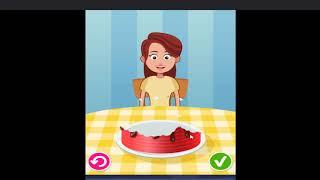 Game vui cho bé - Làm bánh trang trí bánh cho bé