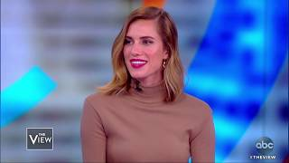 Allison Williams Helps Horizons National Organization | The View