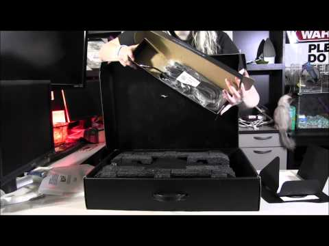 Alienware M18x unboxing