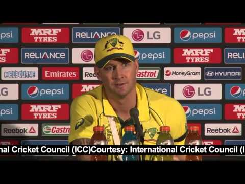 Michael Clarke talks about winning the World Cup