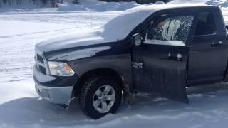 Ram 2014 V6 cold starting after 4 days by -32C