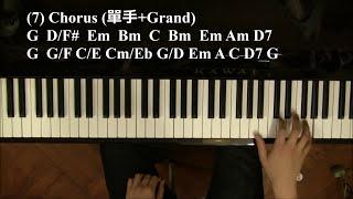 流行鋼琴教學 11 - 點解從此唔使再上網搵譜? (例子:單車/陳奕迅)
