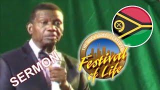 Pastor E.A Adeboye Sermon @ RCCG Vanuatu FESTIVAL OF LIFE 2018
