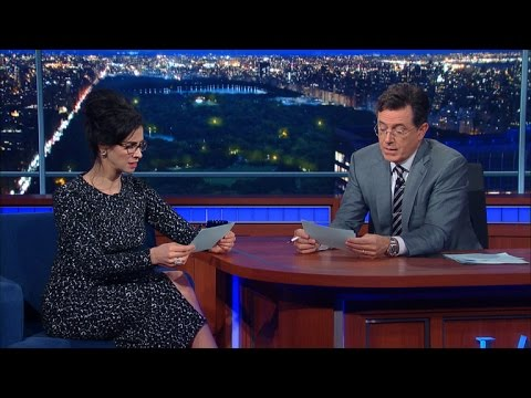 Stephen and Sarah Silverman Read Bad Kids Jokes