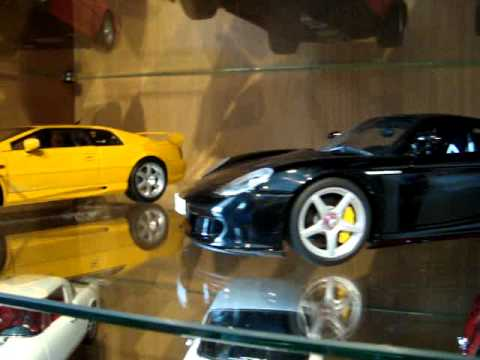 My 1/18 diecast collection exoto bbr autoart kyosho minichamps