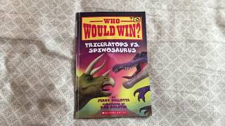Who Would Win? Triceratops vs Spinosaurus - book review