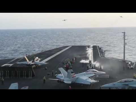 Harry S  Truman (CVN 75) conducts Strikes from Mediterranean Sea, June 6 2016