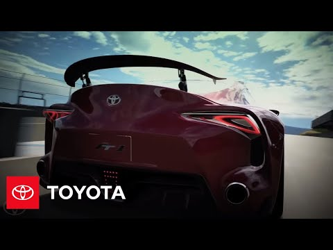 Toyota FT-1 Concept Appearing in PlayStation®3 Gran Turismo® 6 | Toyota FT-1