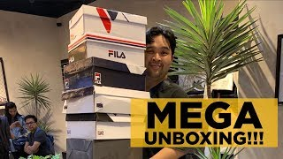 MEGA UNBOXING (OVER 7 NEW FIRE SNEAKERS UNDER PHP5,000)