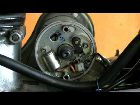 How To Tune Up A Royal Enfield Bullet Motorcycle - Ignition Timing And Point Gap
