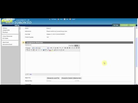 How To View/Complete An Assignment | Blackboard Help