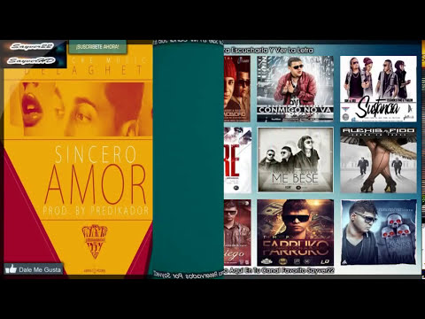 Sincero Amor - De La Ghetto ★(Letra)★