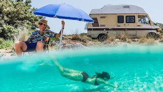 GETTING OUR VAN ONTO A GREEK ISLAND | VAN LIFE | A Day in The Life