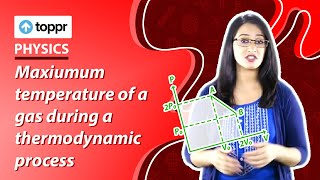 Thermodynamics - Finding the maximum temperature in a given process