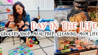 Solo Mommy Meal Prep Monday l Productive Day In The Life of A Stay At Home Mom Of 2