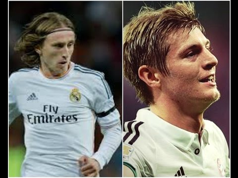 Luka Modric and Toni Kroos. Real Madrid player Orchestra