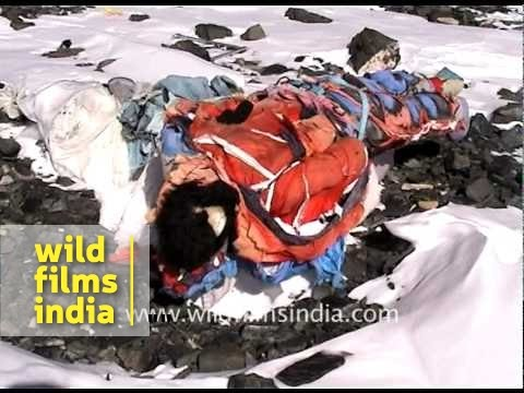 Dead Body on South Col, Everest