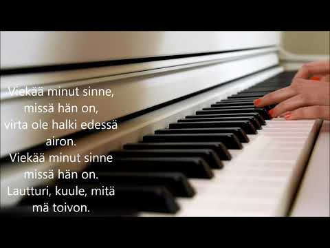 PMMP - Lautturi (piano cover + lyrics)