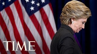 Hillary Clinton Is Slightly Less Popular Than President Trump According To Bloomberg Poll   TIME