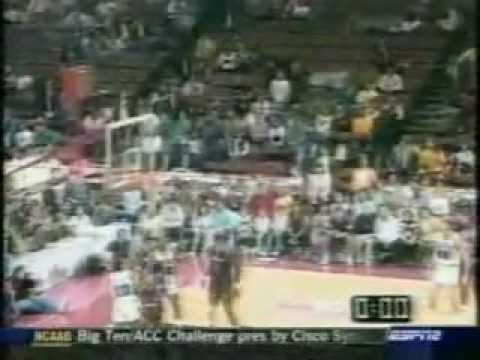 Greatest Moments of the NBA (Awesome Endings) I like Julius Ervings Shot at 00:43, and sorry about the bad quality.