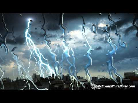 Thunderbolt & Lightning, Very Very (Soothing) | Rain and Thunder Sounds for Sleeping | White Noise