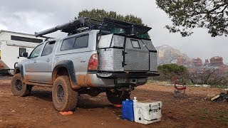 Nomad Living in a 4x4 Tacoma for 4 years - Truck Camper Walk Through