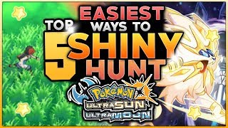 Top 5 Easiest Ways To Hunt Shiny Pokemon In Pokemon Ultra Sun And Ultra Moon