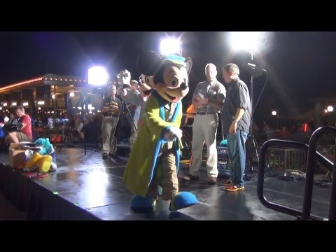 Mickey and Minnie Mouse in Pajamas, Monstrous Summer All-Nighter, Magic Kingdom, Walt Disney World