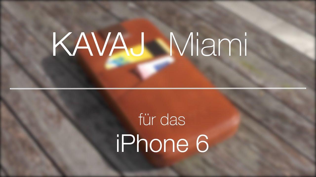 kavaj miami iphone 6 taschen review german deutsch
